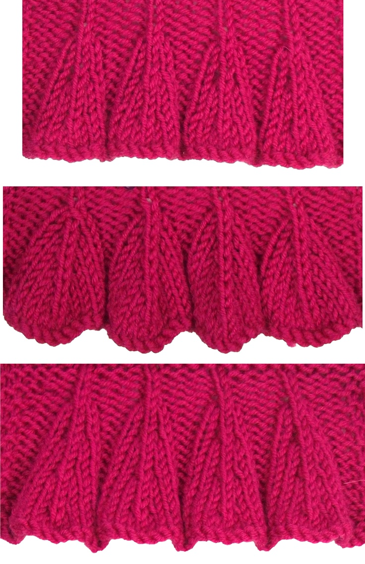 Knitting Edge Slip Stitch : Best images about june knitting stitch patterns on