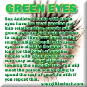Green Eyes - facts