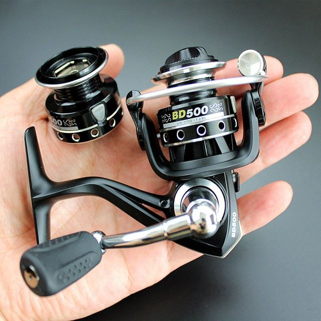 Double Reels Mini Trout Fishing Spinning Reel Salmo Playtcephalus Stainless Aluminum Spool Baitcasting Rati Fishing Spinning Reels Spinning Reels Trout Fishing