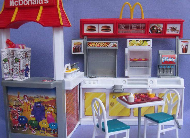 Toys For Restaurants : Barbie mcdonald s restaurant playset mattel