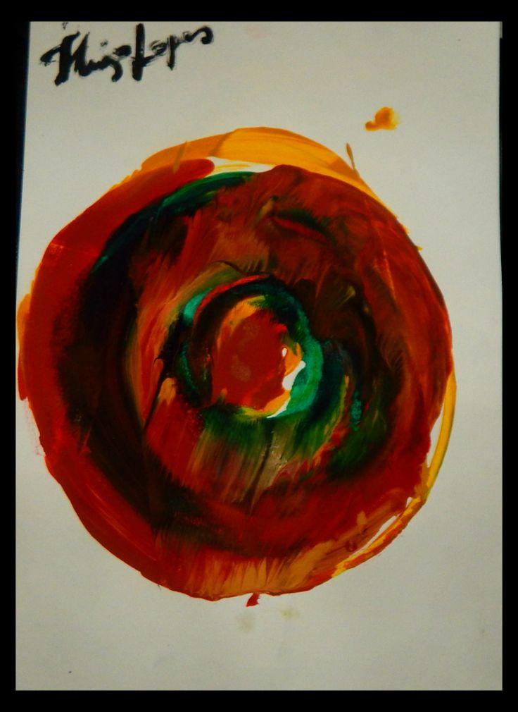 """#24 - """"Rotação""""// """"Spin"""" 30 dias de Setembro - 30 days of September A4 - 180g - 21,0cm X 29,7cm"""