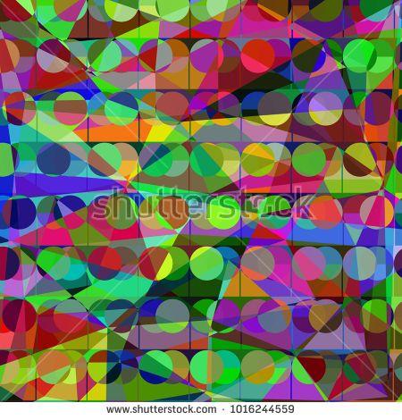 Abstract geometri vector image design pattern