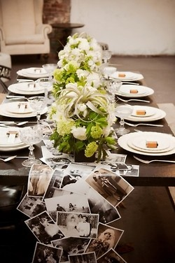Photo Table Runner   from ana rosa
