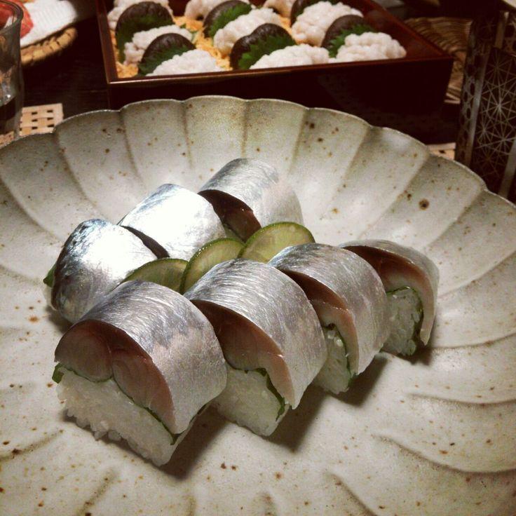 真鯖の棒寿司