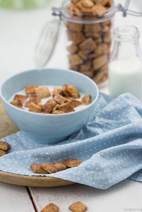 """Frühstücks-Knusperstückchen mit Zimt aus Dinkelmehl An was denkt ihr zuerst, wenn ihr das Wort """"Kindheitserinnerungen"""""""