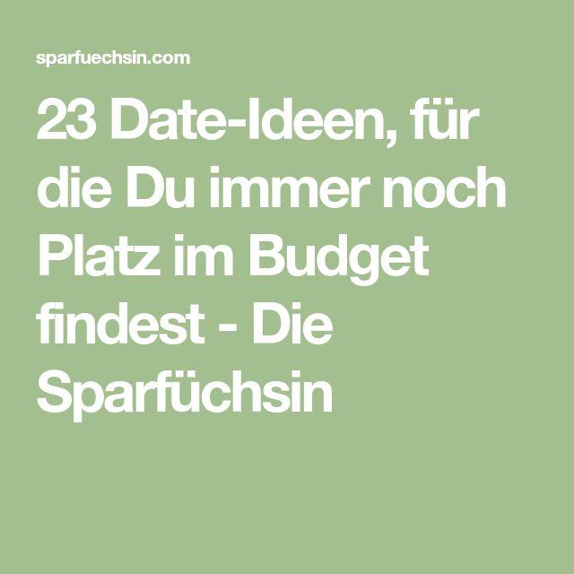 23 Date-Ideen, für die Du immer noch Platz im Budget findest - Die Sparfüchsin