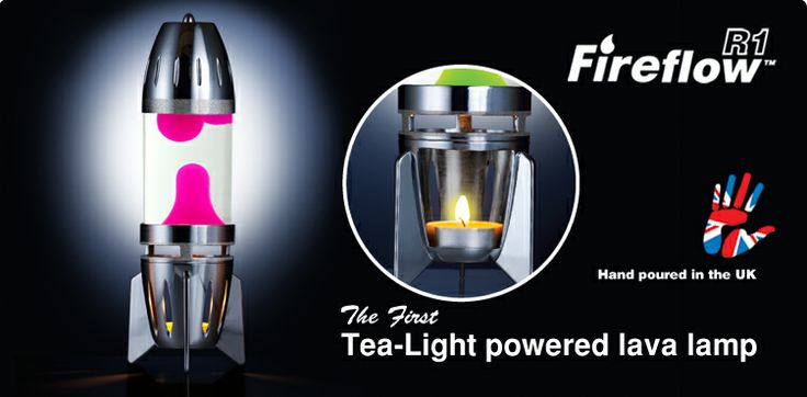 Fireflow R1 Candle lava lamp $29.99
