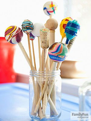 Simple Craft Projects For Kids Make A Mallet Via Familyfun Magazine