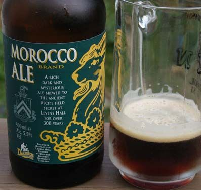 This Ale from Morocco was the type that was full of flavor but you only drank and ounce at a time cause that's all you could manage.
