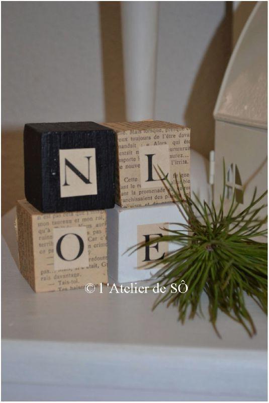 cubes N O E L