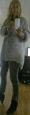 Hjemmestrikket Skappel-genser