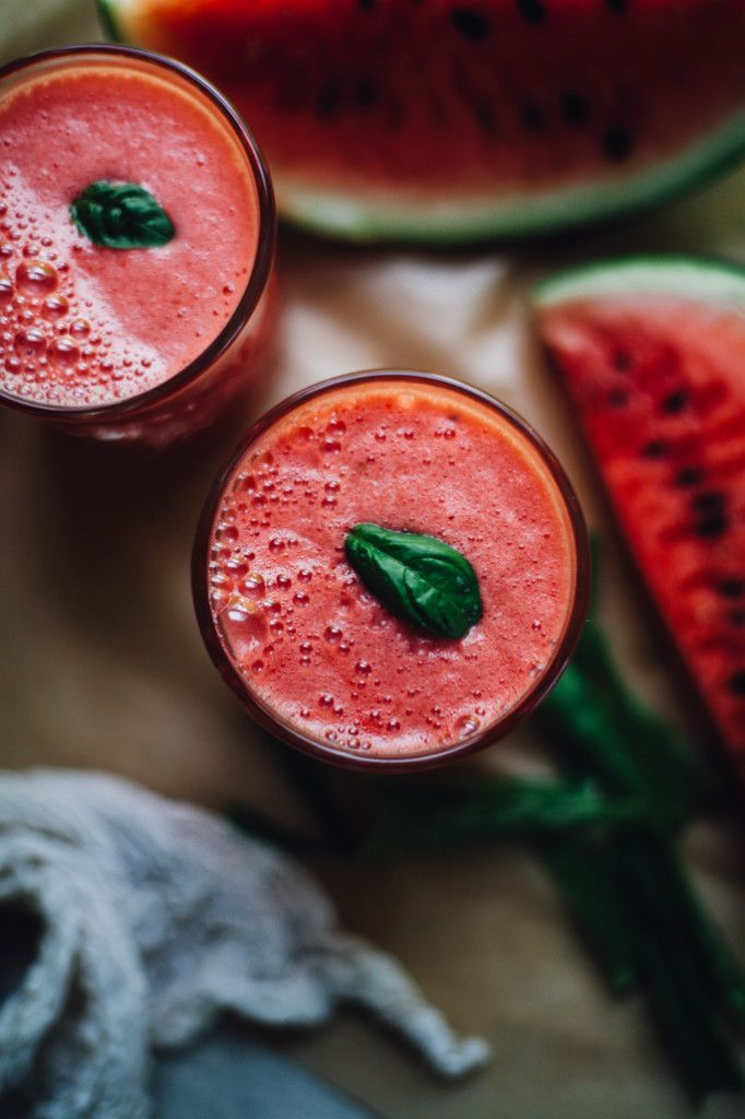 Watermelon Coconut Aloe Juice aka How to Rehydrate Like a Goddess
