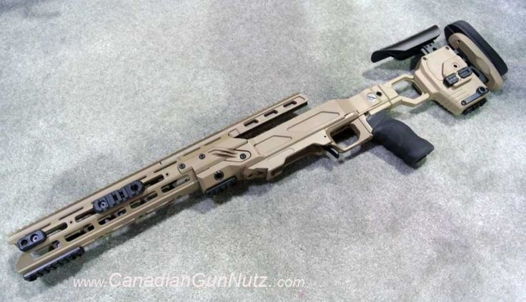 Remington 700 SPS Tactical AAC - SD w/ RACS Chassis