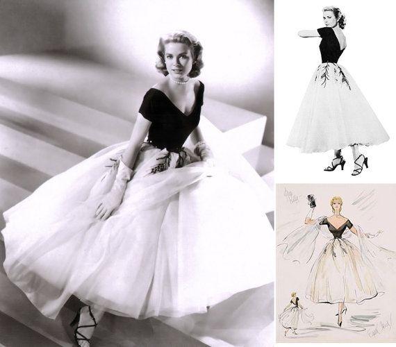 1950s Grace Kelly Dress... from Rear Window... by pinkpurr on Etsy