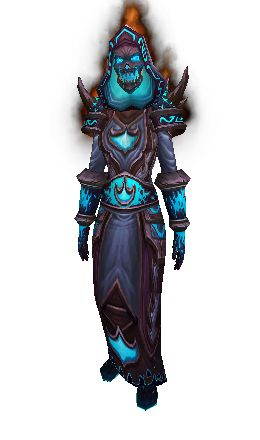 Firelord's Vestments Transmog (Mage)