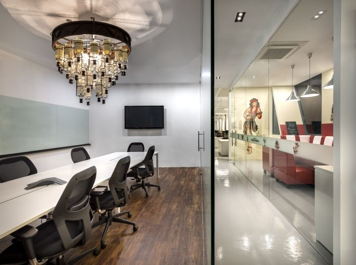 William Grant & Sons office by ADX Architects, Singapore » Retail Design Blog