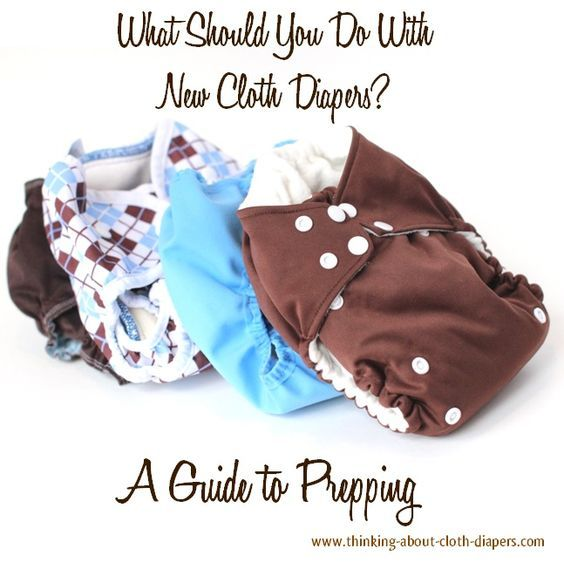 Preparing New Cloth Diapers - Prepping for a Positive Experience