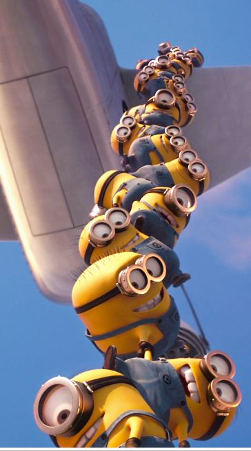 love these little minions they are so cute