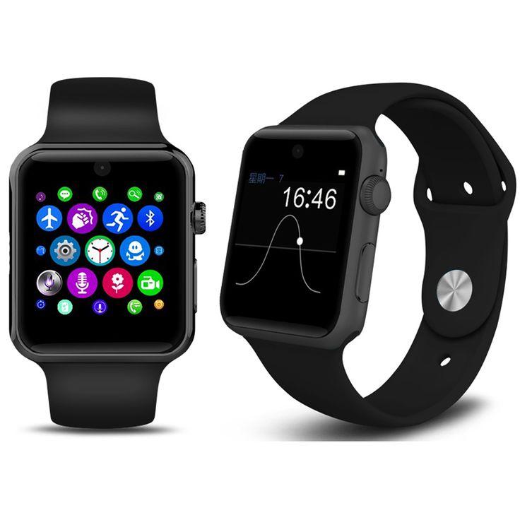 Smartwatch Magie Knopf Für IOS Android Smartphone Reloj Bluetooth Kamera Montre Connecte Telefon Unterstützung Sim-karte DM09 //Price: $US $68.80 & FREE Shipping //     #meinesmartuhrende