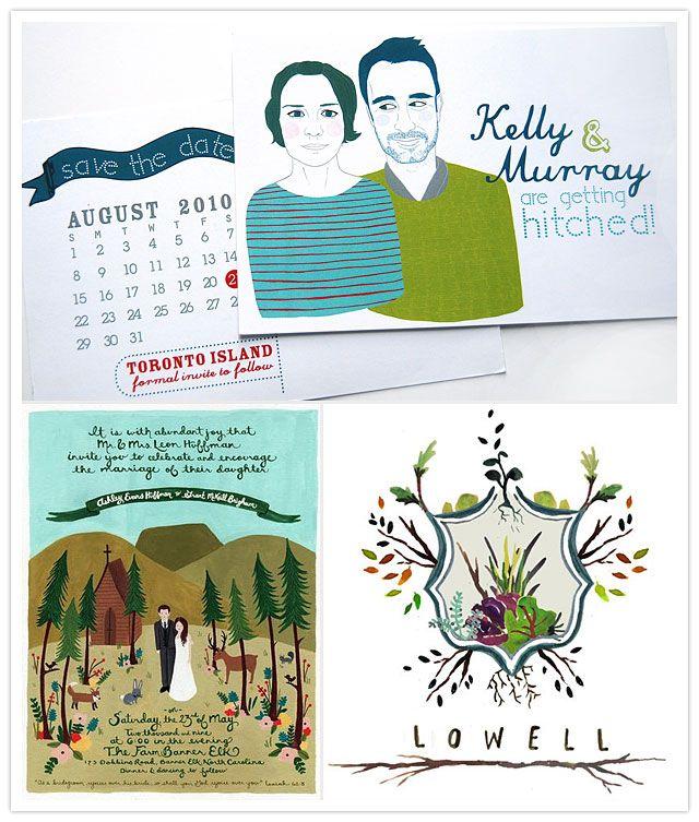 watercolour wedding invites - Google Search
