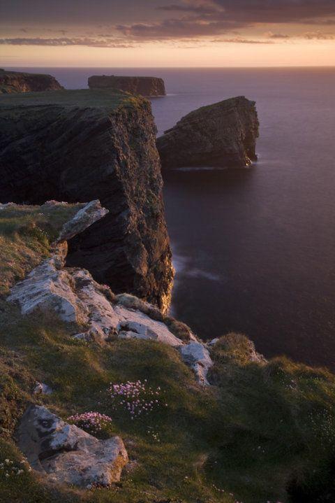 Loop Head Peninsula, Co. Clare, Ireland.