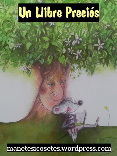 Si us plau! Un llibre màgic amb dos personatges entranyables: el càndid Ratolí Blanc i un dolç taronger florit.