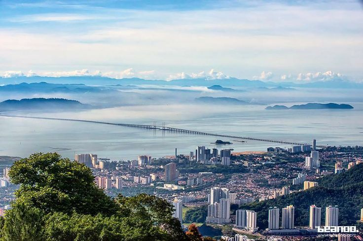 You could see for miles on Penang Hill on a clear day!