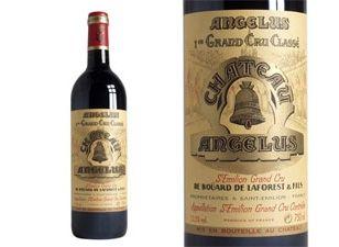 The wine that Vesper Lynd and James Bond drink on the train to Montenegro in the movie Casino Royale is a bottle of Château Angélus, Premier Grand Cru Classé Saint-Émilion '82.