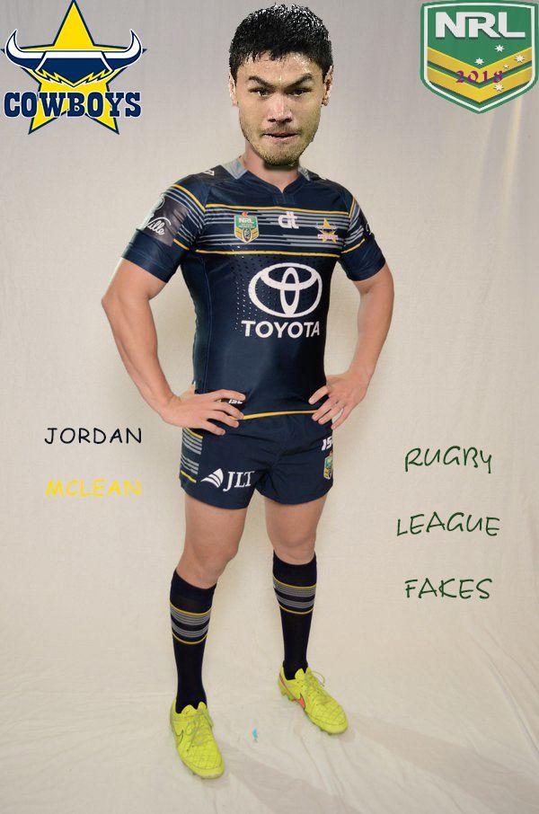 NRL 2018 - Jordan McLean North Queensland Cowboys (Rugby League Fakes)