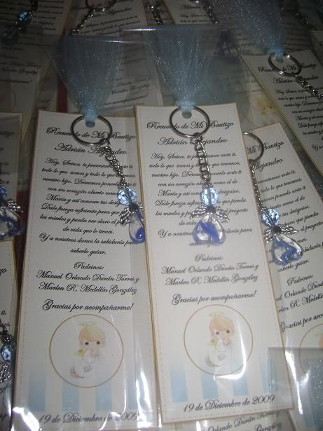 Bautizo invitations