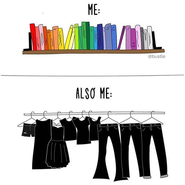 True, but that is mostly because you can't by anything colour-full in Denmark...