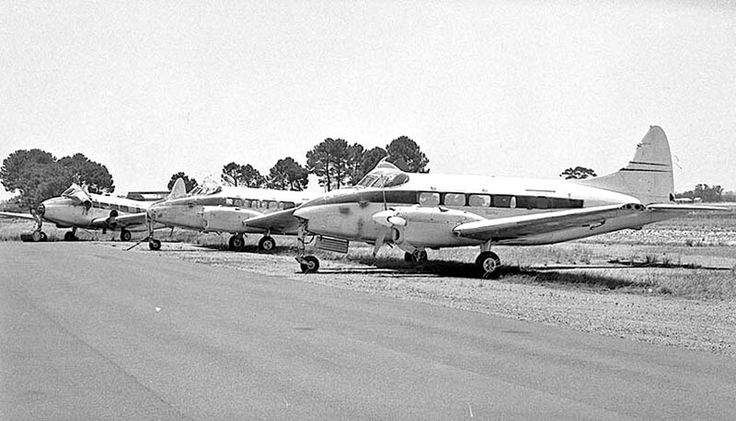 """This trio of ex RNZAF Devons, seen at Perth Airport in December 1971. They were purchased by Murchison Air Services which planned to use them on their third-level airline services from Perth. NZ1814, NZ1817, NZ1818 had registrations reserved as VH-RTY, RTZ & RTX, but before work began on their civil conversions, Murchison was taken over by the expanding Trans West Air Charter, which had no interest in the aging Devons.  They were sold """"as is"""" to a Perth dealer and moved by road to Jandakot…"""
