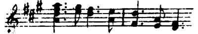 The Götterdämmerung (Twilight of the Gods) Leitmotiv from Wagner's Das Rheingold