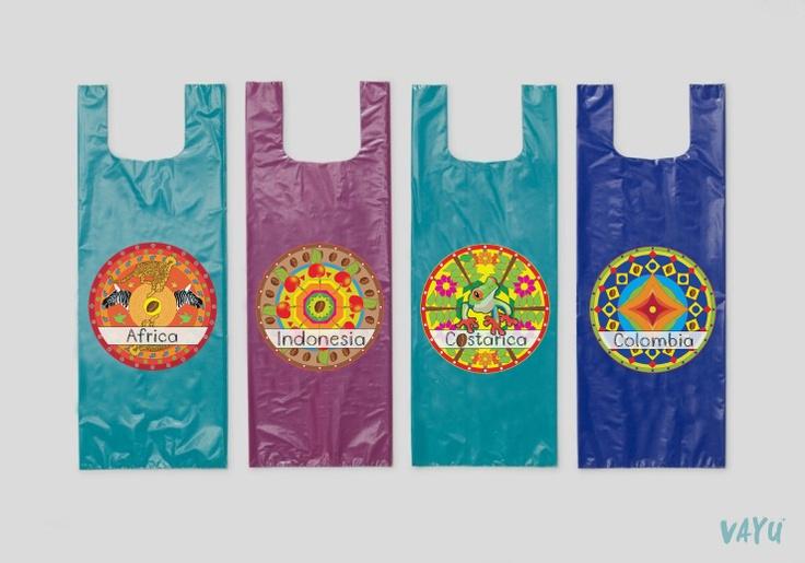 plastic bag design/ Client_SCUnion/ Design by VAYU
