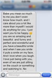 Long Cute Paragraph For My Girlfriend