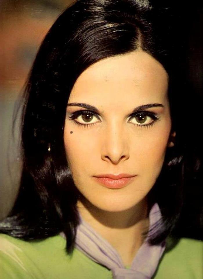 Elena Nathanael - Greek actress and fashion icon of '60s - '70s