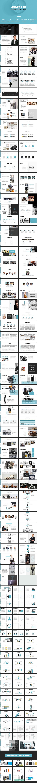 45DEGREE - Multipurpose PowerPoint Presentation Template