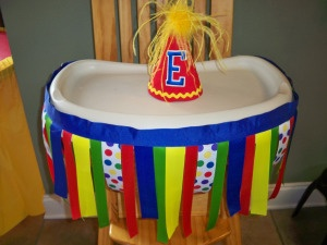A Big Top Birthday: Circus theme birthday party. Click to visit Two Belles Event Planning blog for more circus theme party ideas! Circus decor.100_4410