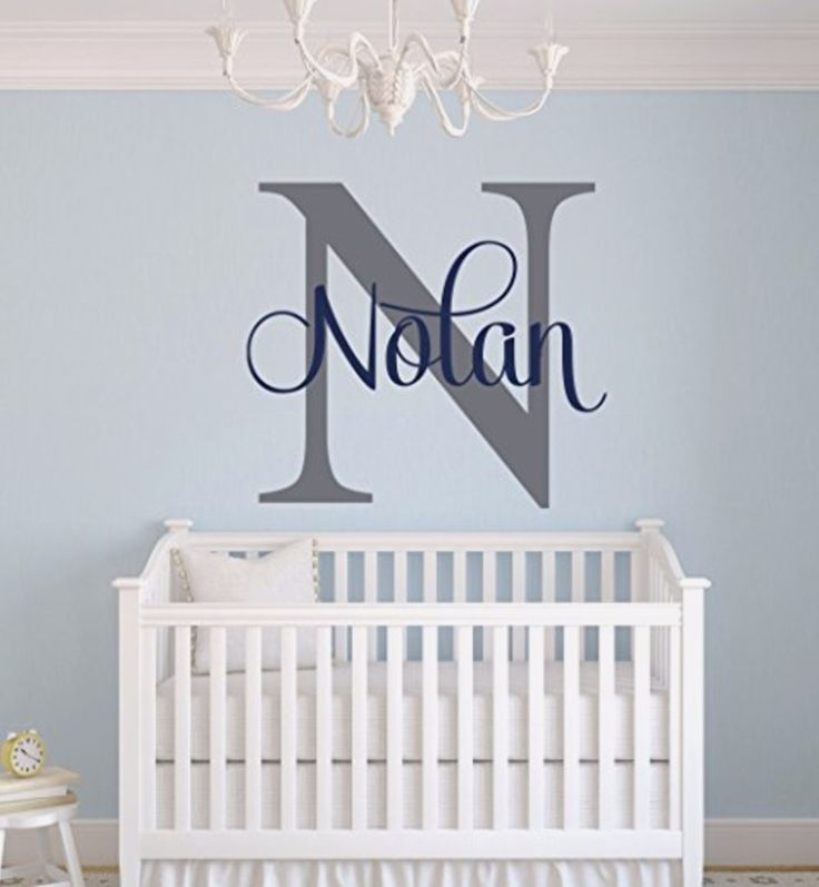 Unique baby boy nursery wall decor idea - baby boy nurseries and decorating ideas
