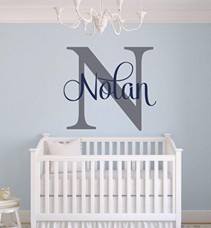 Unique baby boy nursery wall decor idea - baby boy nurseries and decorating ideas