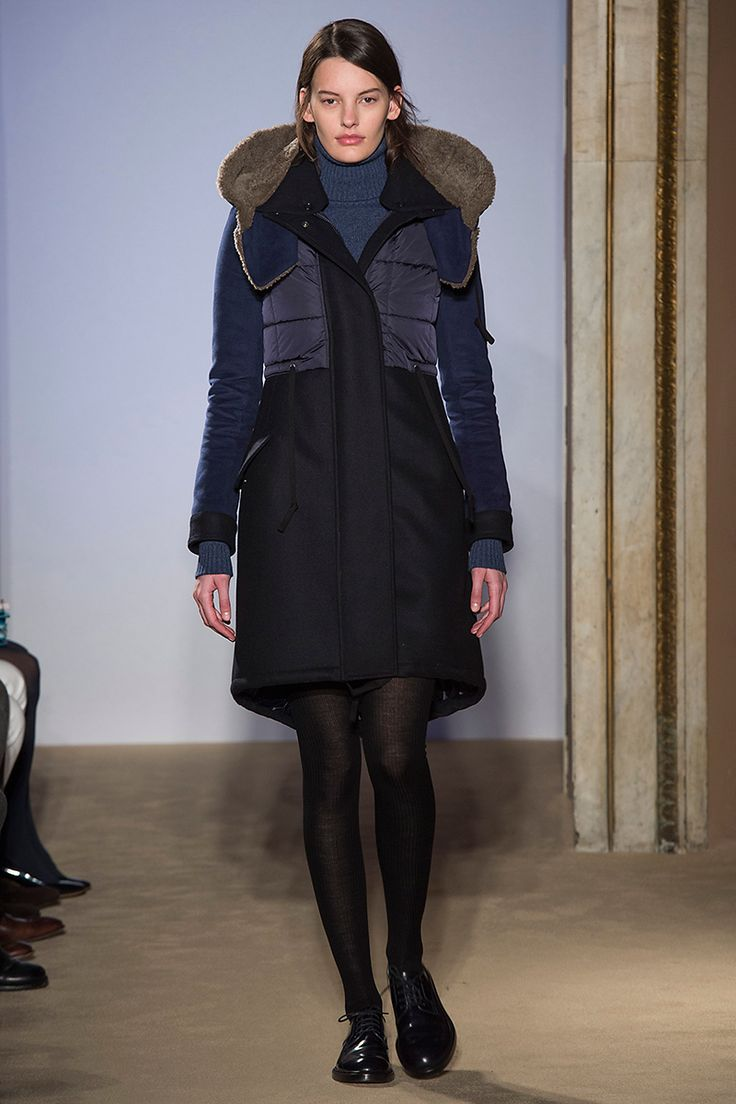 Runway looks from the Fay Women's Fall - Winter 2015 - 2016 show.