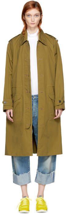 Chimala Green Norwegian Army Coat