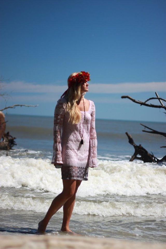 Gypsy cowgirl dress, vintage lace crochet Festival dress, bohemian daisy, Purple ombre. women's clothing, shabby lace - Gypsy cowgirl dress, vintage lace crochet Festival dress, bohemian daisy, Purple ombre. women's clothing, shabby lace, true rebel clothing