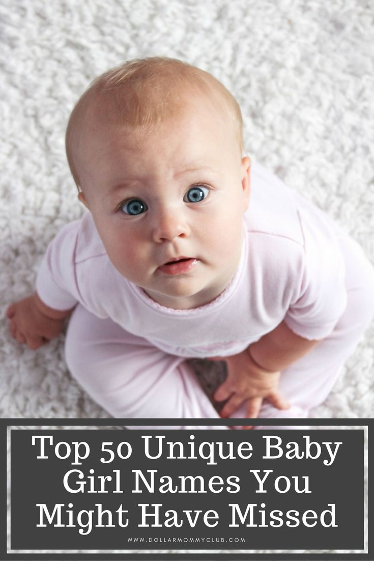 Knowing what to name your baby can be overwhelming since the name you pick will be their name for the rest of their life! #babtnames #uniquebabynames #uniquebabygirlnames