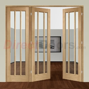 Image of Easi-Frame Oak Door Set, GOWOR-COEOP13L, 2005mm Height, 2042mm Wide.