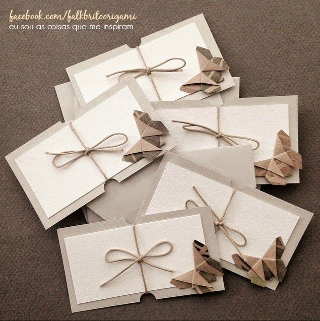 Origami Cards Butterfly                                                                                                                                                     More