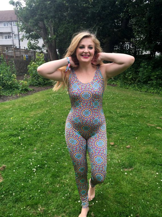 Oval Catsuit Made to Order XS-XXL by Danbine on Etsy
