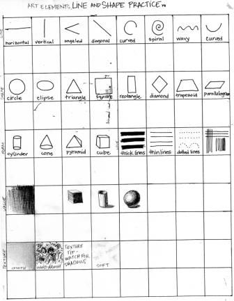 Printables Elements Of Art Worksheets 1000 images about art worksheetsprintables on pinterest cool worksheet