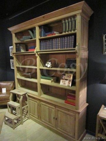 25 beste idee n over ladder boekenkast op pinterest - Model bibliotheek houten ...