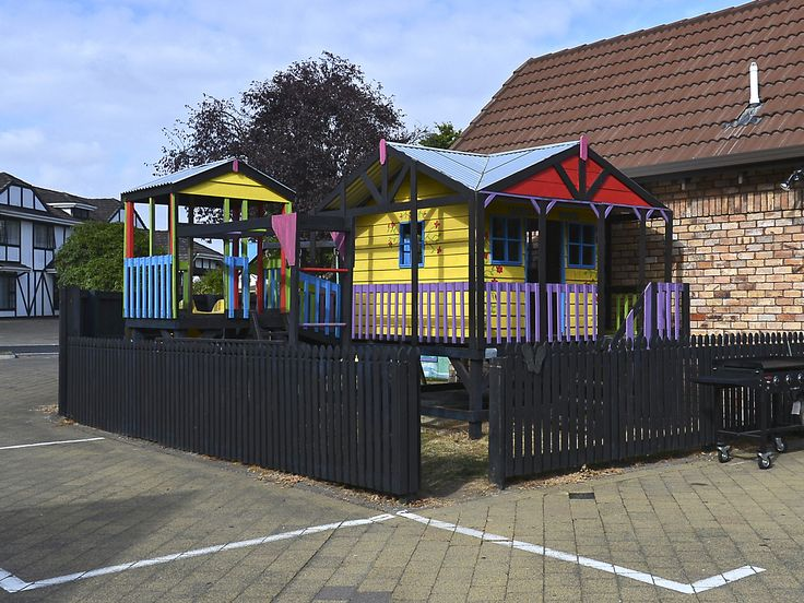 Our very popular Childrens playground.